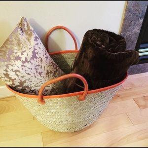 Other - Handwoven Morocco Basket
